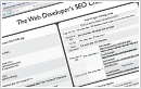 Web Developer's SEO Cheatsheet